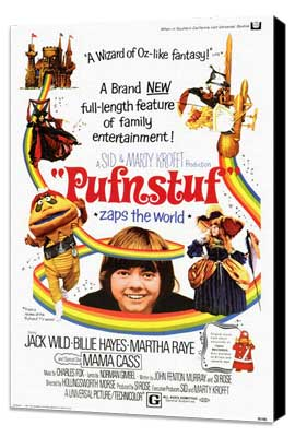 Pufnstuf - 27 x 40 Movie Poster - Style A - Museum Wrapped Canvas