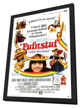 Pufnstuf - 11 x 17 Movie Poster - Style A - in Deluxe Wood Frame
