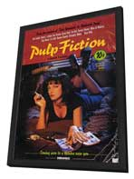 Pulp Fiction - 11 x 17 Movie Poster - Style K - in Deluxe Wood Frame