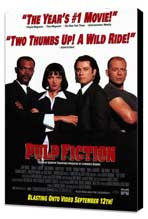 Pulp Fiction - 27 x 40 Movie Poster - Style F - Museum Wrapped Canvas