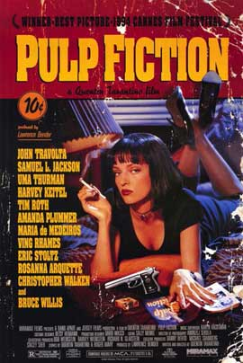 Pulp Fiction - 11 x 17 Movie Poster - Style B