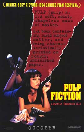 Pulp Fiction - 11 x 17 Movie Poster - Style D