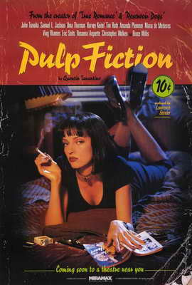 Pulp Fiction - 11 x 17 Movie Poster - Style K