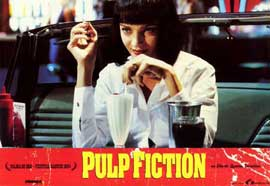 Pulp Fiction - 11 x 14 Poster Spanish Style G