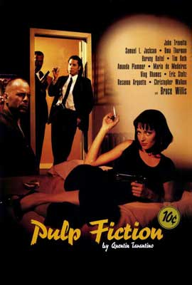 Pulp Fiction - 27 x 40 Movie Poster - Style C