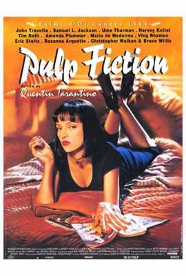 Pulp Fiction - 27 x 40 Movie Poster - Foreign - Style A