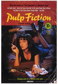 Pulp Fiction - 43 x 62 Movie Poster - Bus Shelter Style B