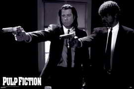 Pulp Fiction - Movie Poster - 24 x 36 - Style A