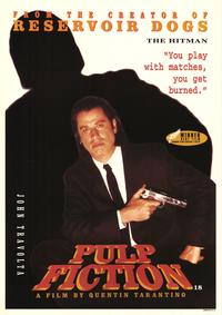 Pulp Fiction - Movie Poster - 24 x 34 - Style A
