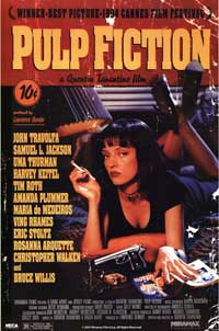 Pulp Fiction - Movie Poster - 22 x 34 - Style A