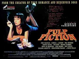 Pulp Fiction - 11 x 17 Movie Poster - Style M