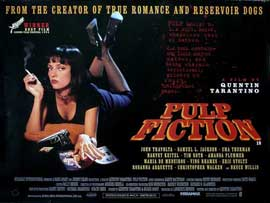 Pulp Fiction - 11 x 17 Movie Poster - UK Style A