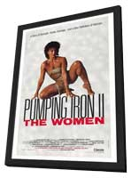 Pumping Iron ll:  The Women - 27 x 40 Movie Poster - Style A - in Deluxe Wood Frame
