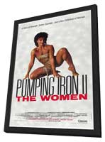 Pumping Iron ll:  The Women - 11 x 17 Movie Poster - Style A - in Deluxe Wood Frame