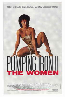 Pumping Iron ll:  The Women - 27 x 40 Movie Poster - Style A