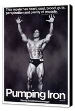 Pumping Iron - 27 x 40 Movie Poster - Style A - Museum Wrapped Canvas