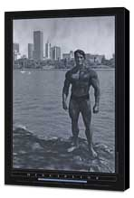 Pumping Iron - 24 x 36 Movie Poster - Style E - Museum Wrapped Canvas