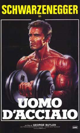 Pumping Iron - 11 x 17 Movie Poster - Italian Style A