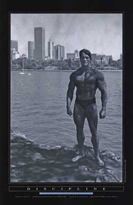 Pumping Iron - 11 x 17 Movie Poster - Style D