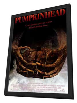 Pumpkinhead - 27 x 40 Movie Poster - Style A - in Deluxe Wood Frame