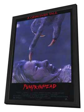 Pumpkinhead - 27 x 40 Movie Poster - Style B - in Deluxe Wood Frame