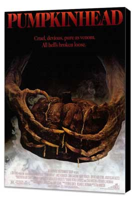 Pumpkinhead - 27 x 40 Movie Poster - Style A - Museum Wrapped Canvas