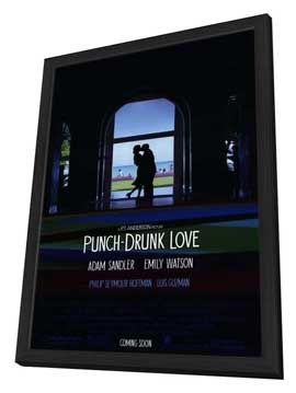 Punch-Drunk Love - 11 x 17 Movie Poster - Style A - in Deluxe Wood Frame