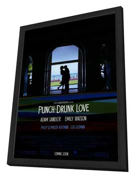 Punch-Drunk Love - 27 x 40 Movie Poster - Style A - in Deluxe Wood Frame