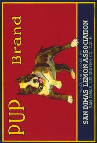 Pup Brand Lemons - 11 x 17 Movie Poster - Style A