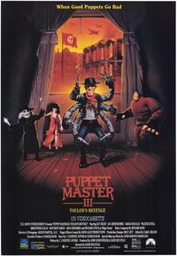 Puppet Master 3: Toulon's Revenge - 43 x 62 Movie Poster - Bus Shelter Style A