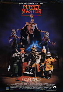 Puppet Master 4 - 11 x 17 Movie Poster - Style A