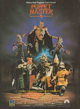 Puppet Master 4 - 27 x 40 Movie Poster - Style B