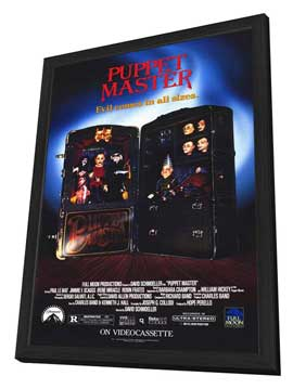 Puppet Master - 27 x 40 Movie Poster - Style A - in Deluxe Wood Frame