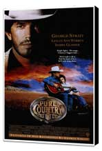Pure Country - 27 x 40 Movie Poster - Style A - Museum Wrapped Canvas