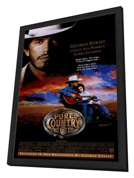 Pure Country - 11 x 17 Movie Poster - Style A - in Deluxe Wood Frame