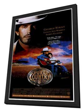 Pure Country - 27 x 40 Movie Poster - Style A - in Deluxe Wood Frame