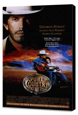 Pure Country - 11 x 17 Movie Poster - Style A - Museum Wrapped Canvas