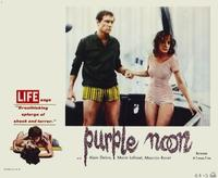 Purple Noon - 11 x 14 Movie Poster - Style D