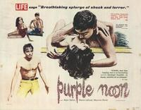 Purple Noon - 22 x 28 Movie Poster - Half Sheet Style A