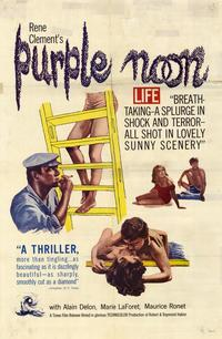 Purple Noon - 43 x 62 Movie Poster - Bus Shelter Style A