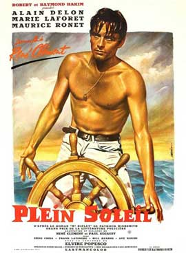 Purple Noon - 11 x 17 Movie Poster - French Style A