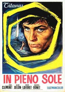 Purple Noon - 11 x 17 Movie Poster - Italian Style A