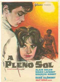 Purple Noon - 11 x 17 Movie Poster - Spanish Style A