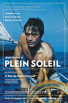 Purple Noon - 11 x 17 Movie Poster - UK Style A