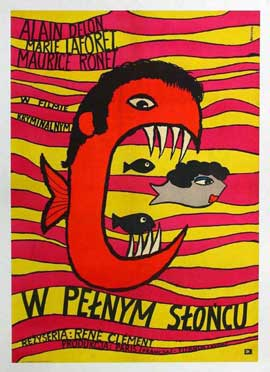 Purple Noon - 11 x 17 Movie Poster - Polish Style A