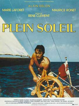 Purple Noon - 11 x 17 Movie Poster - French Style D