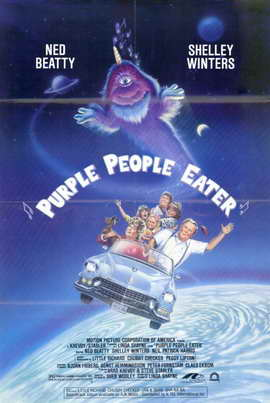Purple People Eater - 11 x 17 Movie Poster - Style A