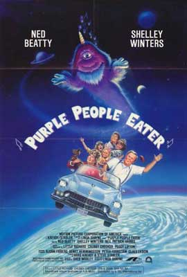 Purple People Eater - 27 x 40 Movie Poster - Style A