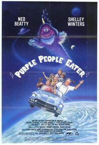Purple People Eater - 43 x 62 Movie Poster - Bus Shelter Style A