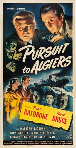 Pursuit to Algiers - 11 x 17 Movie Poster - Style B
